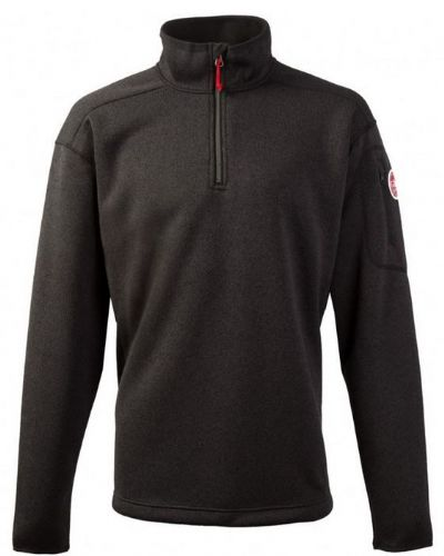 Gill Mens Knit Fleece Graphite XL 1491 Front Zip Breathable
